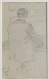 12 Small Sketches - Man Playing Piano