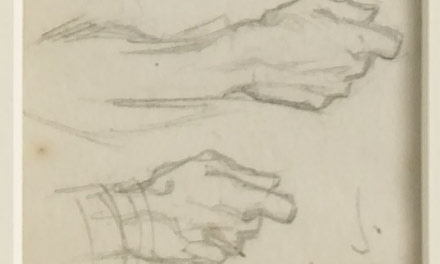 12 Small Sketches - Two Hands