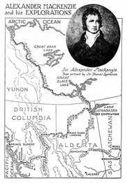 Alexander Mackenzie and His Explorations
