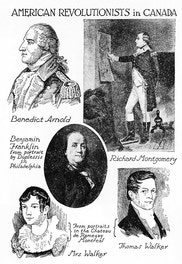 American Revolutionists in Canada