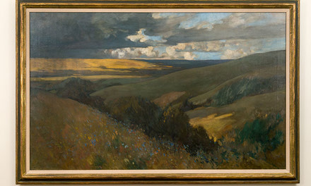 Approaching Storm, Qu'Appelle Valley
