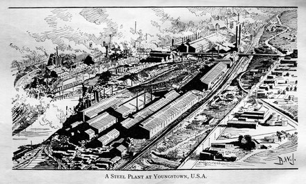 {A Steel Plant at Youngstown, USA}