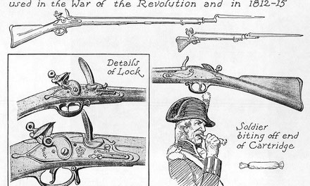 {Brown Bess or Tower Musket}
