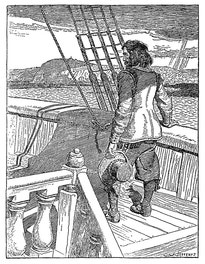 {Champlain Leaving Quebec, A Prisoner}