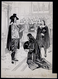 Charles I Demanding Arrest of Five Members of Parliament