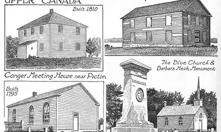 Early Churches In Upper Canada