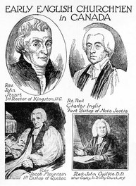 Early English Churchmen in Canada