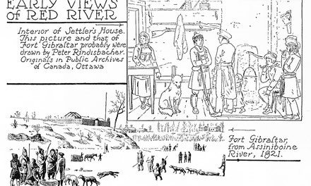 Early Views Of Red River