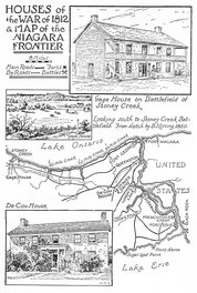 Houses Of The War Of 1812 And Map Of The Niagara Frontier