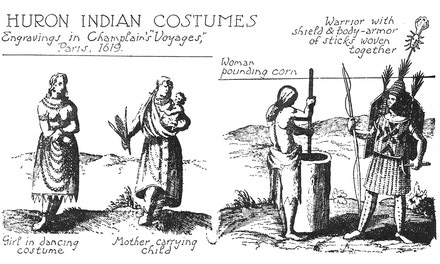 Huron Indian Costumes