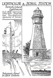 Lighthouse And Signal Station