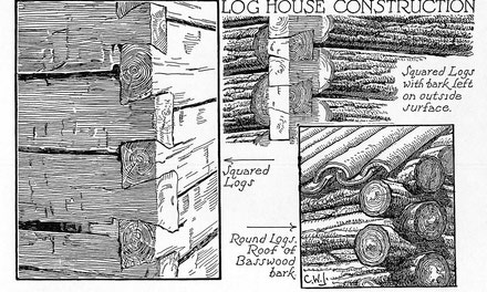 {Log House Construction}
