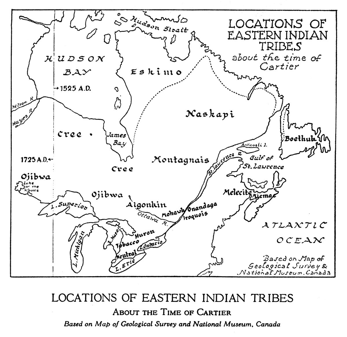 Eastern tribes: a selection of sites
