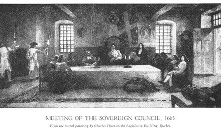Meeting of the Sovereign Council