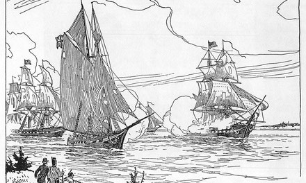 {Naval Action On Lake Ontario, 1813}