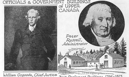 Officials And Government Buildings Of Upper Canada