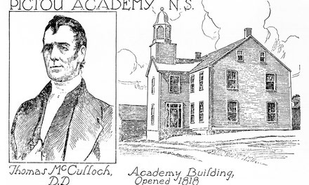 {Pictou Academy, N.S}
