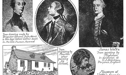 {Portraits of Wolfe, Wolfe's House. Wolfe's Fiancee}