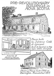 {Pre-revolutionary Buildings in Nova Scotia}