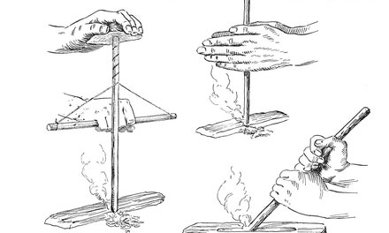 {Primitive Methods of Making Fire}