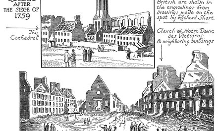 Ruins of Quebec After the Siege