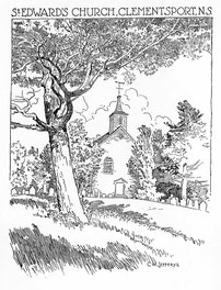 {St. Edward's Church, Clementsport, N.S.}