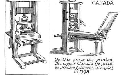{The First Press in Upper Canada}