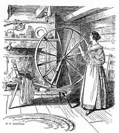 {The Spinning Wheel}