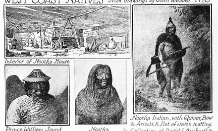 {West Coast Natives, From Drawings by John Webber}