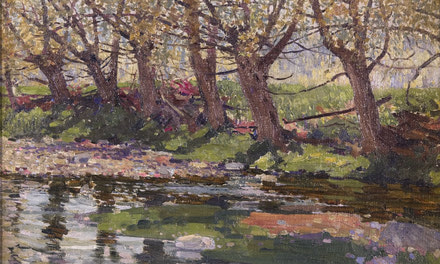 Willow Creek, May (Oil)
