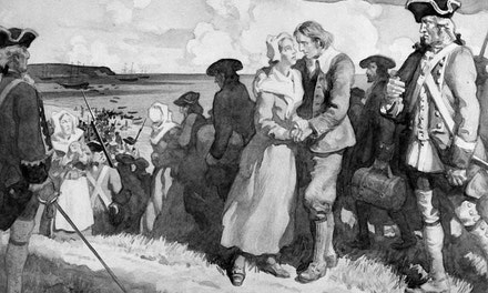 Embarkation of the Acadians