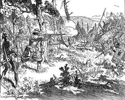Champlain's Fight With the Iroquois, 1609