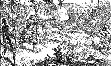 {Champlain's Fight With the Iroquois, 1609}