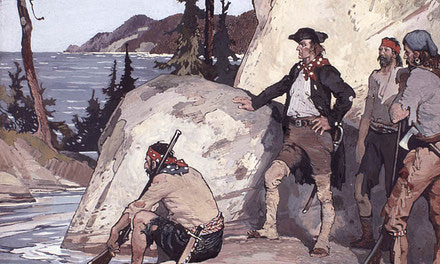MacKenzie at the Pacific, 1793