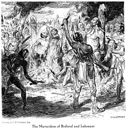 {Martyrdom of Brebeuf and Lalemant}