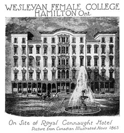 Wesleyan Female College, Hamilton