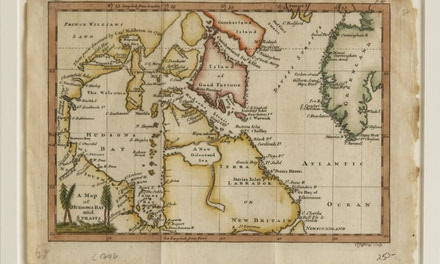 A Map of Hudsons Bay and Straits 1756 (Thomas Jefferys)