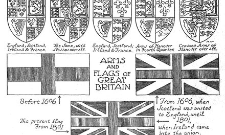 Arms and Flags of Great Britain