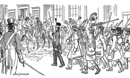 Arrival of the Loyalist Volunteers