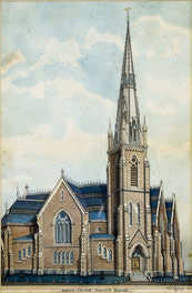 Baptist Church, Jarvis St Toronto (C.T. Jefferys)