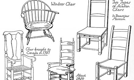 Chairs, Eighteenth And Early Nineteenth Centuries