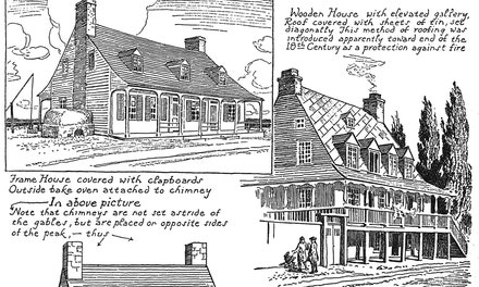 Early Quebec Wooden Houses