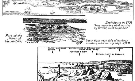 Early Views of Louisbourg