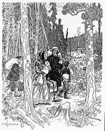 Emigrants in the Woods