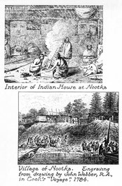 Engravings From Drawings by John Webber, at Nootka