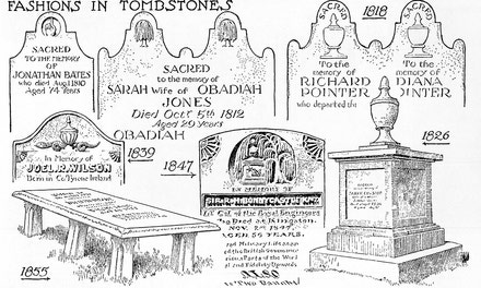 Fashions in Tombstones