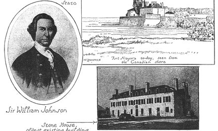 Fort Niagara. Sir William Johnson
