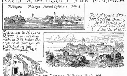 Forts At The Mouth Of The Niagara