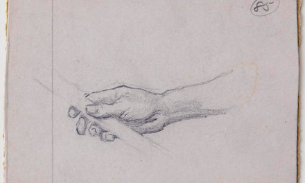 Hand Holding a Rod