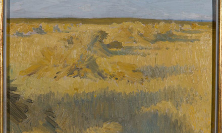 Untitled [Harvested Field, Manitoba] c.1906